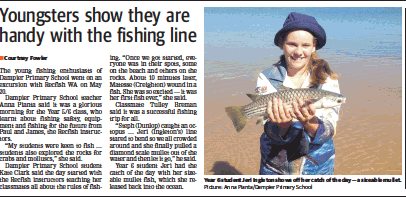 Pilbara Fishing Clinic Article cropped for website