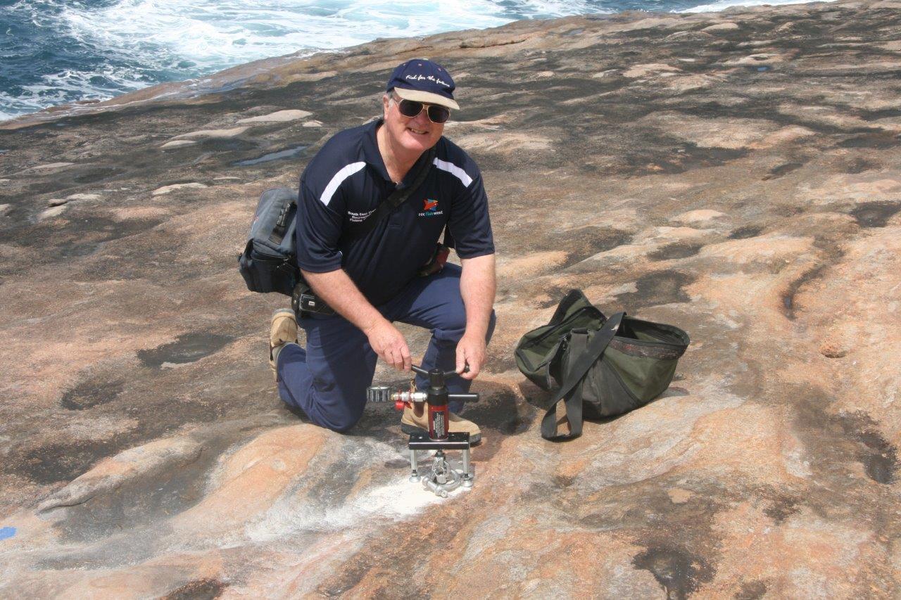 rock fishing bolts Esperance