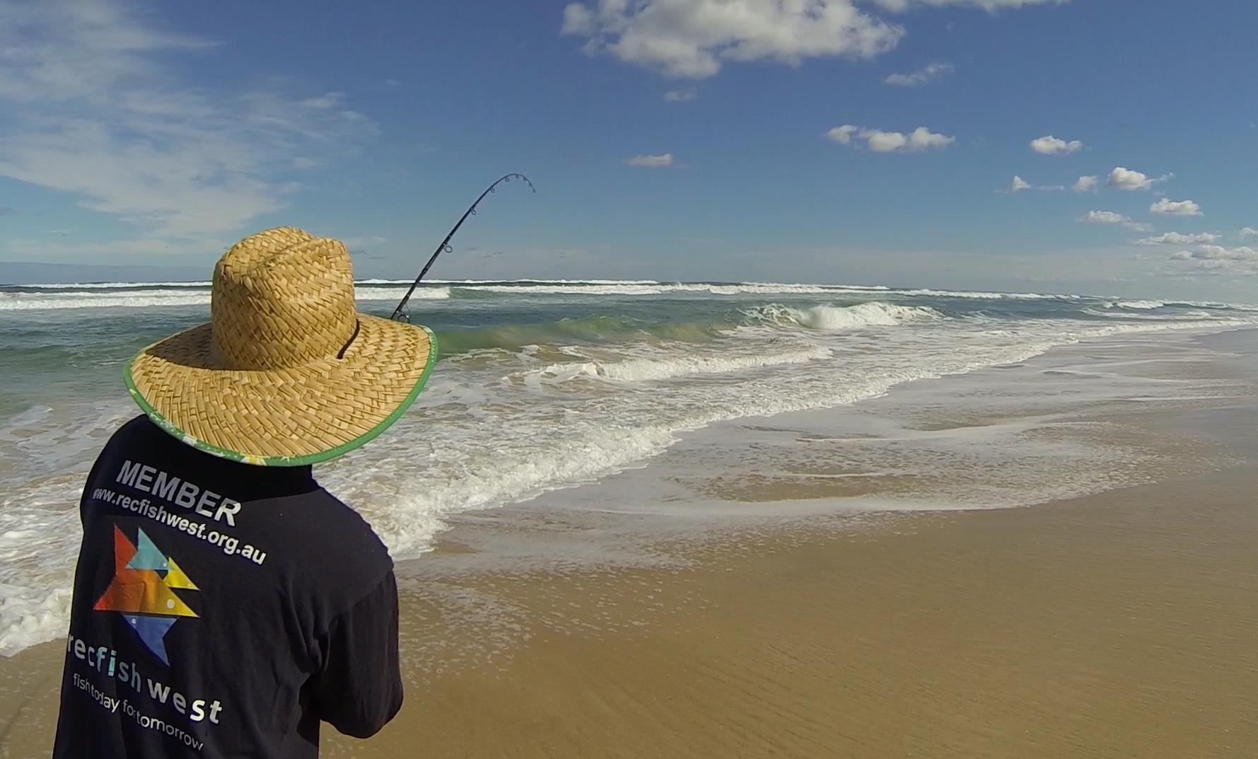 member beach fishing