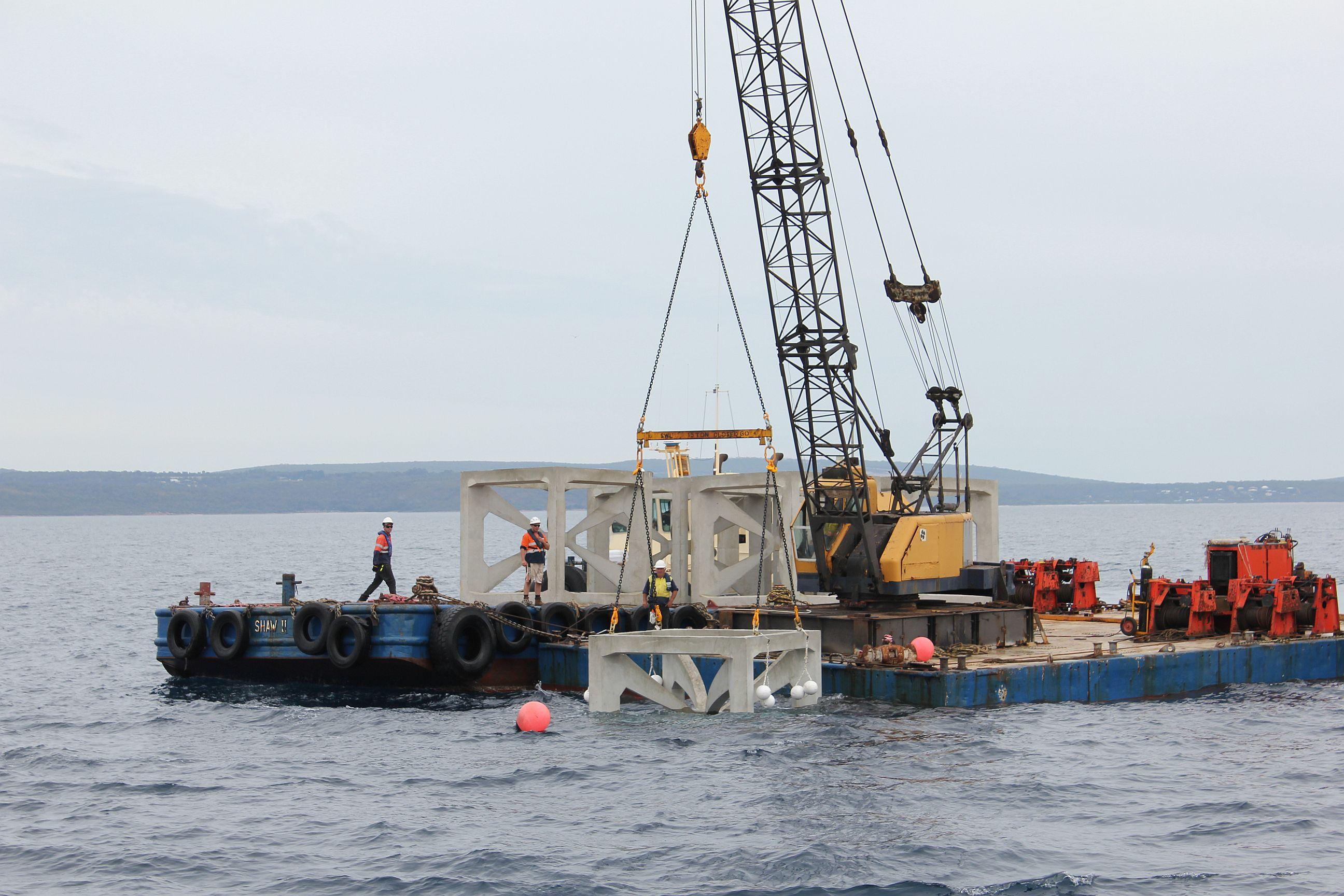 Areefs DEPLOYMENT Geographe Bay MAR2013