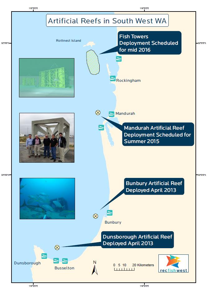 Metro mandurah reefs