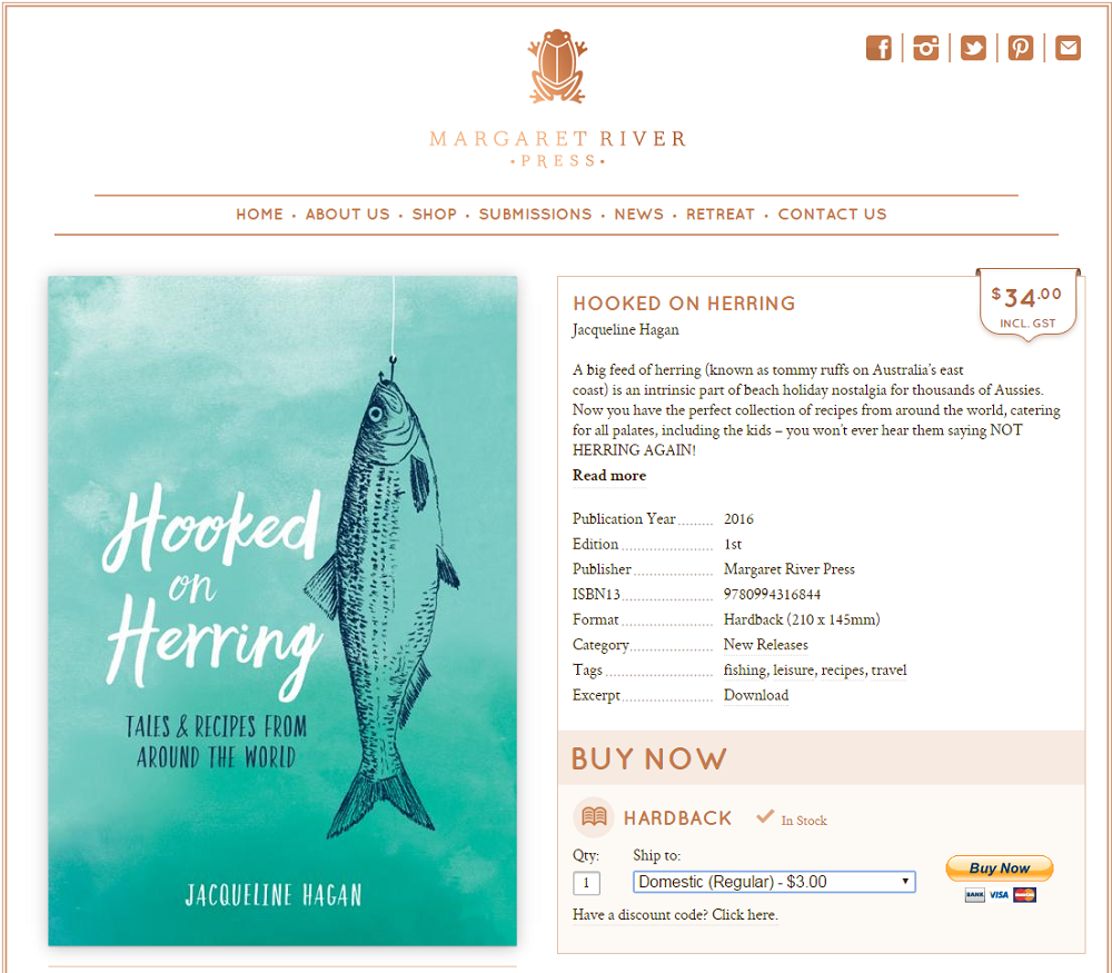 Herring book website
