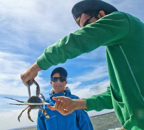 tropi crabbing