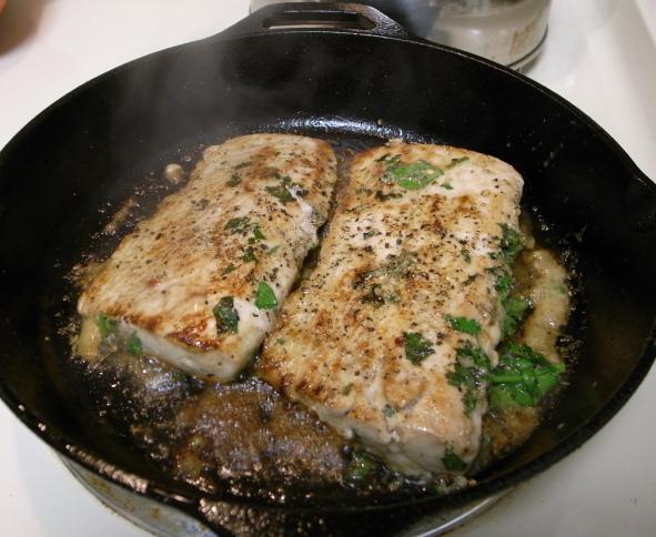 wok fish