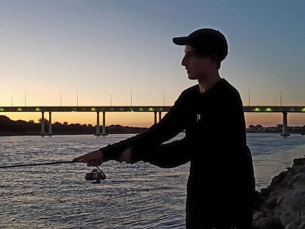 Fishing in the Dawsville Cut